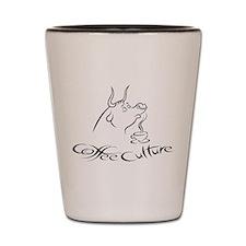 Coffee Cow Shot Glass