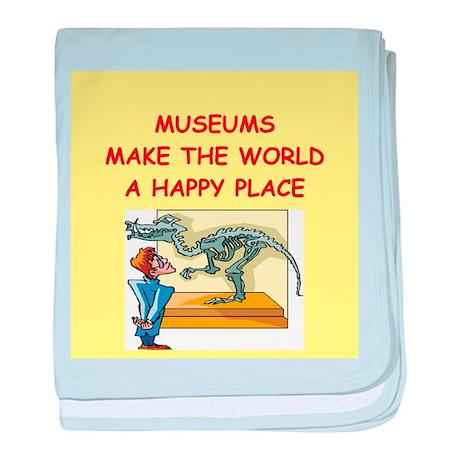museum baby blanket