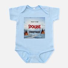 Spokane Heritage Infant Bodysuit