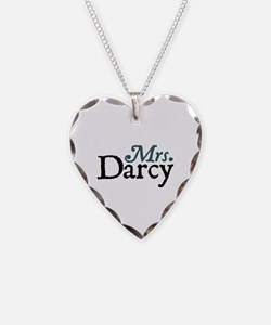 Jane Austen Mrs. Darcy Necklace