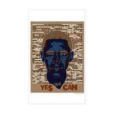 Obama Yes We Can Decal