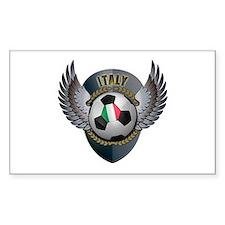Italian soccer ball Decal