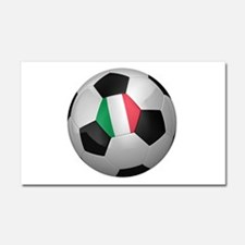 Italian soccer ball Car Magnet 20 x 12