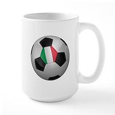 Italian soccer ball Mug