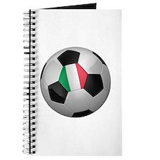 Italian soccer ball Journal