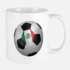 Mexican soccer ball Mug