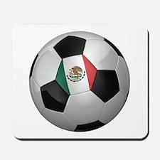 Mexican soccer ball Mousepad