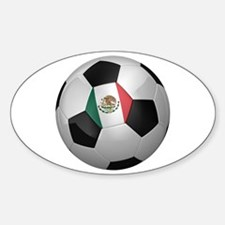 Mexican soccer ball Decal