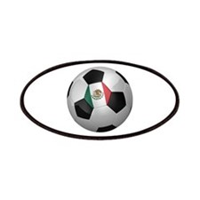 Mexican soccer ball Patches