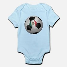 Mexican soccer ball Infant Bodysuit
