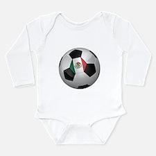 Mexican soccer ball Long Sleeve Infant Bodysuit