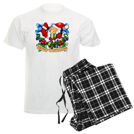 Santa Claus Special Men's Light Pajamas