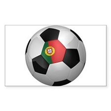 Portuguese soccer ball Decal