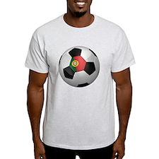 Portuguese soccer ball T-Shirt