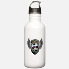 Russian soccer ball with crest Water Bottle