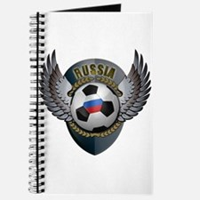 Russian soccer ball with crest Journal