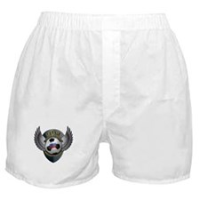 Russian soccer ball with crest Boxer Shorts
