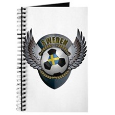 Swedish soccer ball with crest Journal