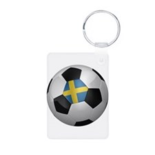 Swedish soccer ball Keychains