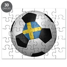 Swedish soccer ball Puzzle