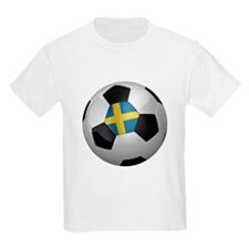 Swedish soccer ball T-Shirt