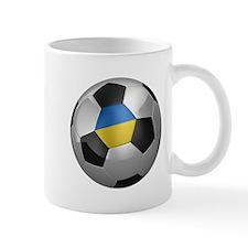 Ukrainian soccer ball Mug