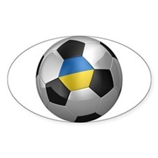 Ukrainian soccer ball Decal