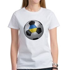 Ukrainian soccer ball Tee