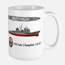 USS Lake Champlain (CG-57) Mug