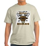Messed With The Bull Light T-Shirt