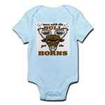 Messed With The Bull Infant Bodysuit