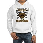 Messed With The Bull Hooded Sweatshirt