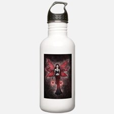 Christmas Fairy by Molly Harrison Water Bottle