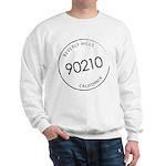 90210 Beverly Hills CA Sweatshirt