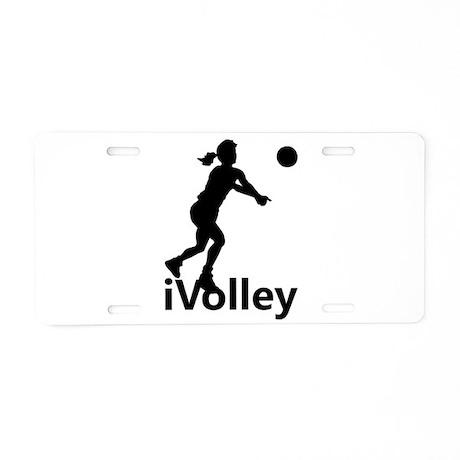 iVolley Aluminum License Plate