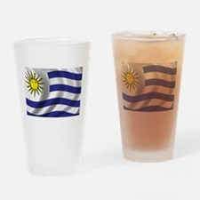 Flag of Uruguay Drinking Glass