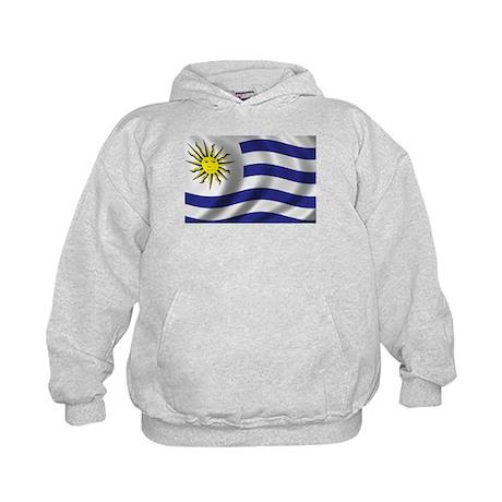 Flag of Uruguay Kids Hoodie