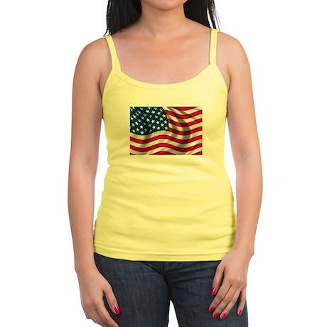 American Flag Jr. Spaghetti Tank
