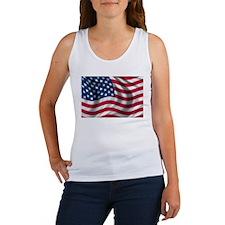 American Flag Women's Tank Top