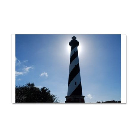 Glow of Hatteras Car Magnet 20 x 12