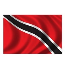 Flag of Trinidad and Tobago Postcards (Package of