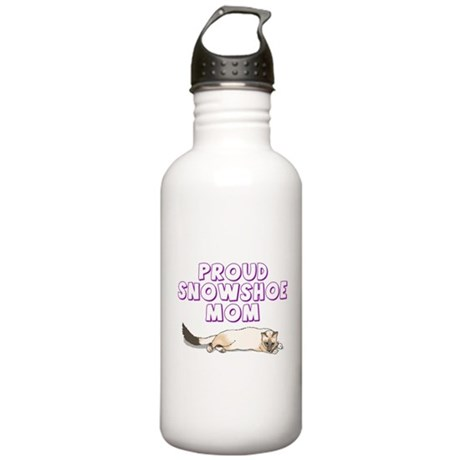 Proud Snowshoe Mom Stainless Water Bottle 1.0L