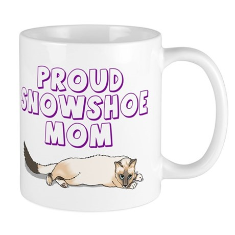 Proud Snowshoe Mom Mug