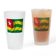 Flag of Togo Drinking Glass