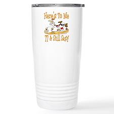 Cheers on 77th Travel Mug
