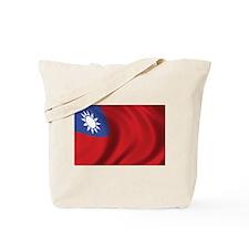 Flag of Taiwan Tote Bag