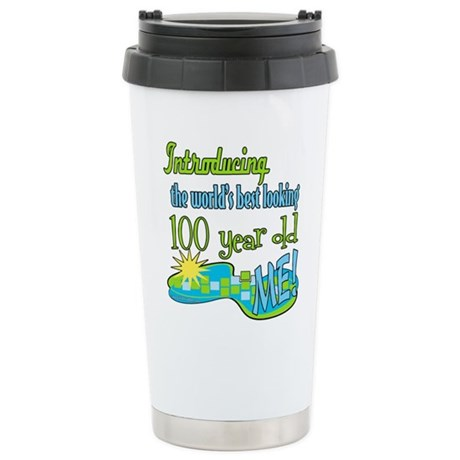 Best Looking 100th Stainless Steel Travel Mug