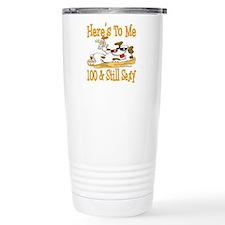 Cheers on 100th Travel Mug