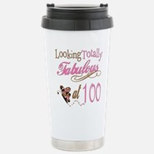 Fabulous 100th Travel Mug