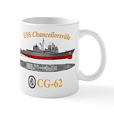 Uss Chancellorsville (cg-62) Mug Mugs
